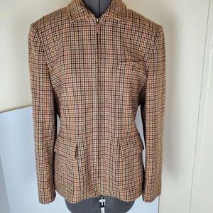 Lauren Ralph Lauren Wool Pleated Jacket
